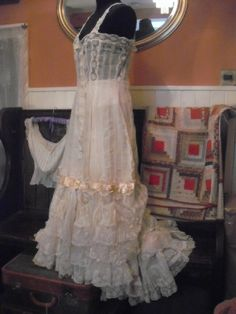 Stunning!  Early Edwardian Undergarments