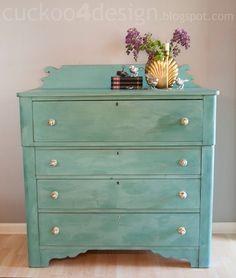 Love refinished vintage furniture