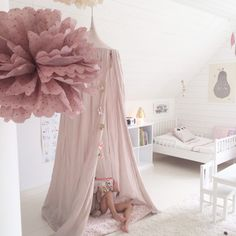 Love the color of this canopy hideaway