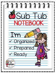 Sub Tub Notebook FREEBIE!