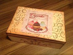 Caixa de chá... www.ideiasartesanato.com.br FB: ideias artesanato