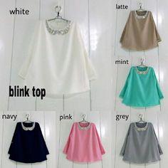 Beli Baju Atasan Wanita Blink Top Unik - http://www.butikjingga.com/baju-atasan-wanita-blink-top