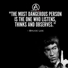 The type of person that distant, observant, and calculating is more dangerous than a loud and imposing figure could ever be.