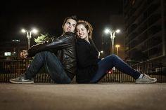 Casal Nycole e Junior  Fotografia Ivo Alves  Av.Paulista (ensaio noturno)