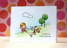 So cute from Laura Bassen  Mama Elephant-Sunday Stroll