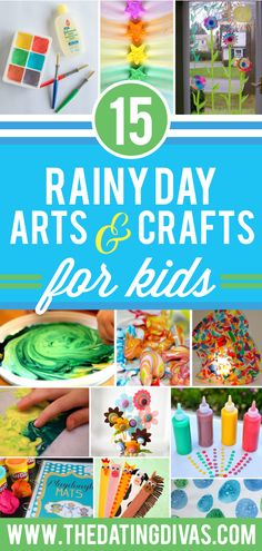 Rainy Day Arts and Crafts for Kids