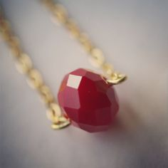 The Bordeaux necklace by jewelsdejuliet on Instagram and Facebook