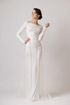 d073a12e49b84 23 Winter Wedding Dresses that WOW