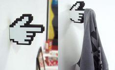 objetos de nerd na decoração