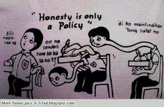 Honesty is only a Policy - Pinoy MEME