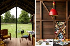 Fashion Icon Paul Smith Co-Designed a Rotating Shed That Chases Natural Light