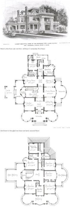 Second empire house plan house plans and exteriors for Second empire floor plans