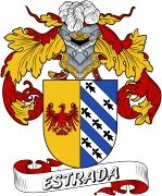 De Estrada Spanish Coat Of Arms www.4crests.com #coatofarms #familycrest #familycrests #coatsofarms #heraldry #family #genealogy #familyreunion #names #history #medieval #codeofarms #familyshield #shield #crest #clan #badge #tattoo #crests #reunion #surname #genealogy #spain #spanish #shield #code #coat #of #arms