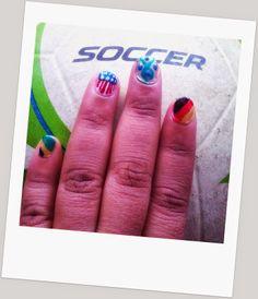 Got my Soccer Nails on!!!