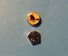 Various Halloween Charms *Witch on Broom Charm *Halloween Coffin Charm