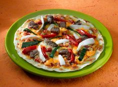 Healthy Adults Lunch | Gluten-free Meat and Veggie Pizza #lunch