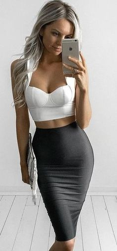 #summer #style | White Fox Boutique Sexy and Awesome Fabric Skirt
