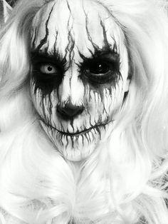 20_Creepiest_Halloween_Makeup_Ideas_14.jpg (710×946)