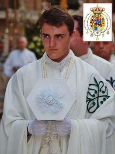 The Duke of Capua in Order of Alcantara's robes
