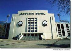 Cottonbowl Stadium.
