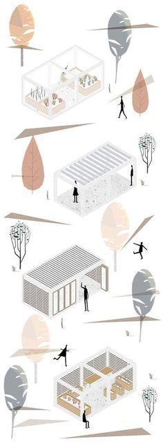 Risultati immagini per Architettura #landscapearchitectureportfolio