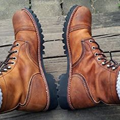 Red Wing Heritage Iron Ranger 6-Inch Boot, Amber Harness, 4.5 D(M) US
