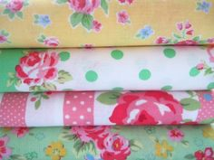Sugar Pink Boutique: New Shabby Chic Fabric Bundles Are Here!