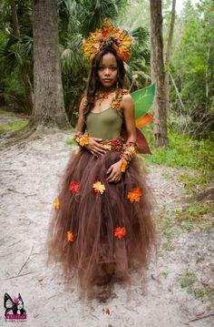SALE Autumn Fairy leaf headdress por Frecklesfairychest en Etsy