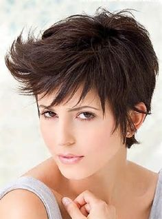 short hair styles - like everything EXCEPT the swoopy bangs.