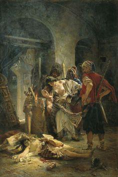The Bulgarian Martyresses by Konstantin Egorovich Makovsky