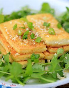 Pan-fried Tofu With Sesame