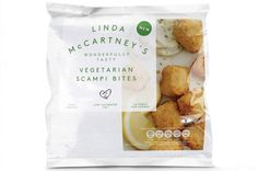 We've long enjoyed a vegan-friendly sausage sandwich courtesy of Linda McCartney, and now the range is expanding with two offerings we are very excited about. The two products will launch in March and April respectively - Vegetarian Scampi Bites and Vegetarian Mini Pork & Apple Sausage Roll