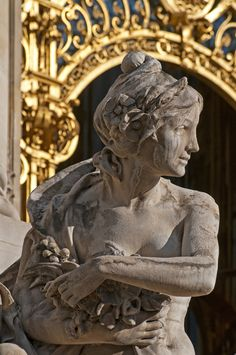 Entrance of Petit Palais, Paris