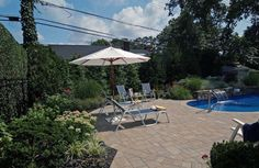 This Beautiful Long Island Backyard Was Created By Schlick Design Group Using The Following Cambridge Products