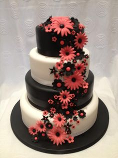 Lovely Floral 4 Tier Cake