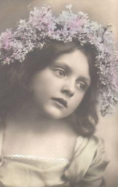 1910violets_hair.jpg (411×648)