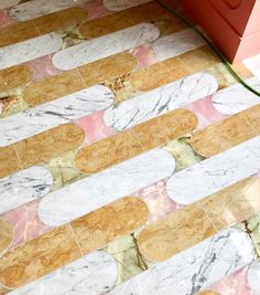 wear this there: louie louie. colorful marble floors inside louie louie cafe in Philadelphia. / sfgirlbybay wear this there: louie louie. colorful marble floors inside louie louie cafe in Philadelphia.