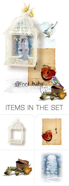 """""""Birds in a gilded cage"""" by no-where-girl ❤ liked on Polyvore featuring art"""