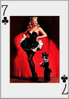 Pin Up Playing Cards photo