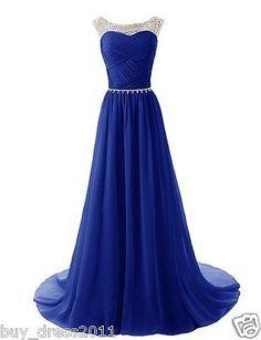 288f1fea1ce New Longue Robe de mariee demoiselle dhonneur robe de bal tenue de soiree 32  46