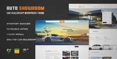 Download and review of Auto Showroom - Car Dealership WordPress Theme, one of the best Themeforest Corporative themes