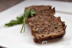 Planked meatloaf for people with type 1 diabetes or type 2 diabetes. DiabeticLifestyle includes full nutritional and diabetic exchange information for all diabetic recipes. This recipe is easy, healthy, and takes just an hour to make.