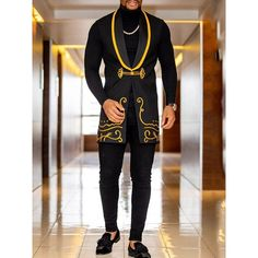 African Wear Styles For Men, African Shirts For Men, African Dresses Men, African Clothing For Men, African Style, Suit Styles For Men, African Outfits, Nigerian Men Fashion, African Men Fashion