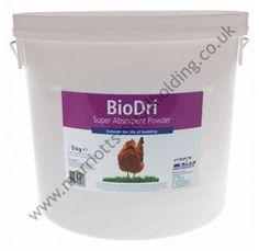 BioDri Absorbent Powder 5kg Bucket Biolink - £11.10 ex. VAT