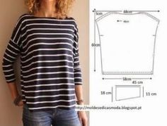 66 ideas for sewing clothes couture shirts Sewing Patterns Free, Free Sewing, Sewing Tutorials, Clothing Patterns, Sewing Projects, Purse Patterns, Sewing Ideas, Diy Couture, Couture Sewing
