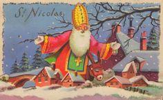 Ancienne carte illustrée : St Nicolas
