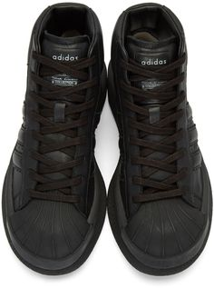 wholesale dealer 22e94 0a1dc Rick Owens - Black adidas Edition Mastodon Sneakers Trainers, Sneakers,  Shoes, Black Adidas