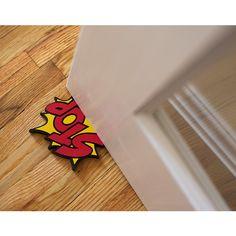 Cartoon door stops from Uncommon Goods  $11.00