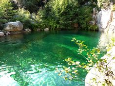 Carciara Canyon, South Corse (Francia).