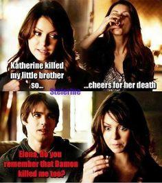 The Vampire Diaries xD Vampire Diaries Quotes, Vampire Diaries Wallpaper, Vampire Diaries Damon, Vampire Diaries The Originals, Vampire Diaries Outfits, Katharina Petrova, Nova Orleans, Vampire Daries, Cw Series